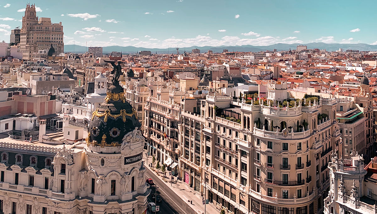 Vue de Madrid